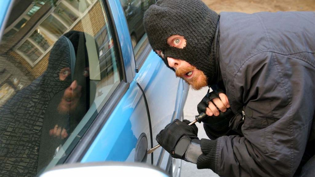 There are 5 ways to avoid vehicle theft