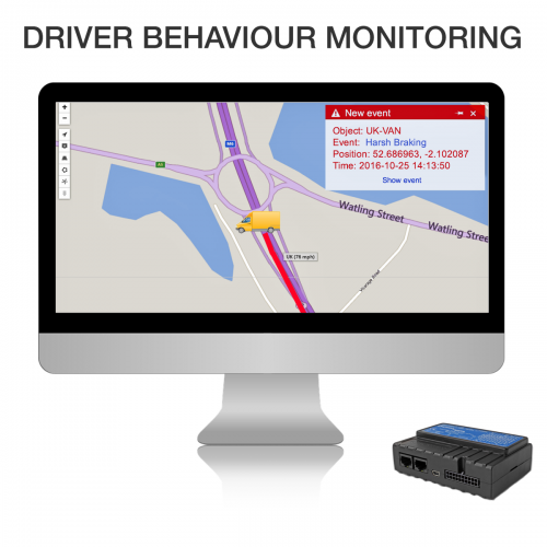 How GPS Tracking System Controls Driver Behaviors