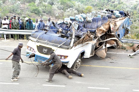 Top 5 causes of Kenyan Road Accidents in 2017