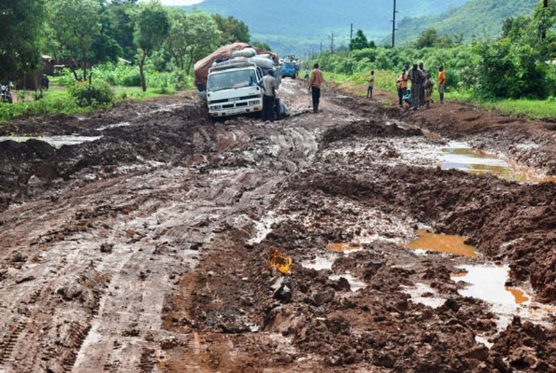 Bad Roads Cause Road Accidents
