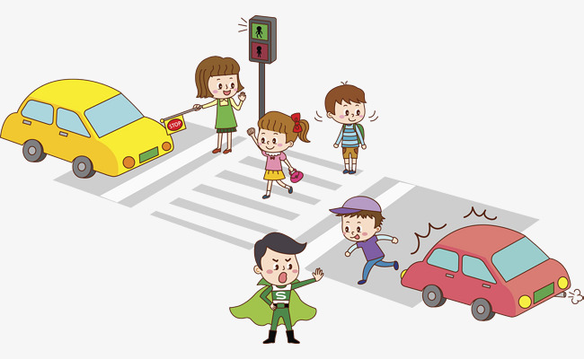 safety tips for kids crossing the road during the festive season