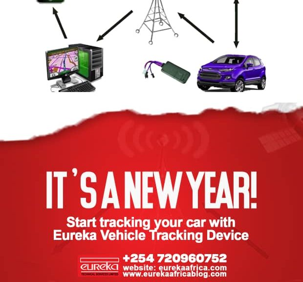 install a tracking device
